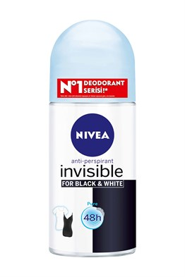 Nivea Roll-On Kadın 50ml Black & Whıte Pure